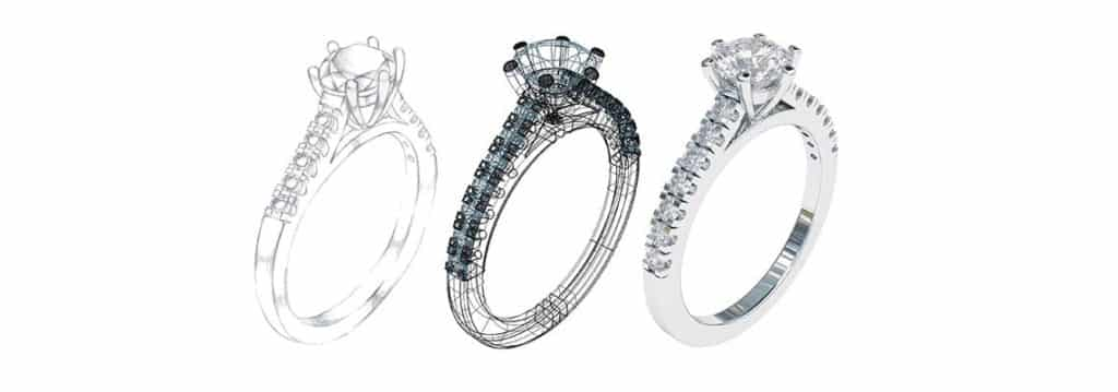 Visualisering av nye smykker
