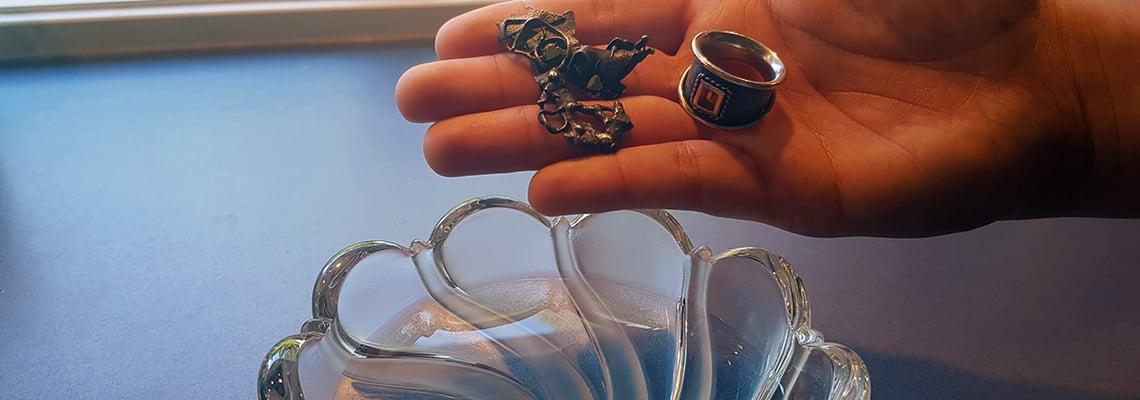 Hvordan rense smykker?